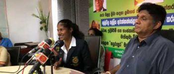 Hon Minister Sajith Premadasa donates a House Worth LKR 3 Million to Para Athlete champion Amara Indumathi Karunathilaka.