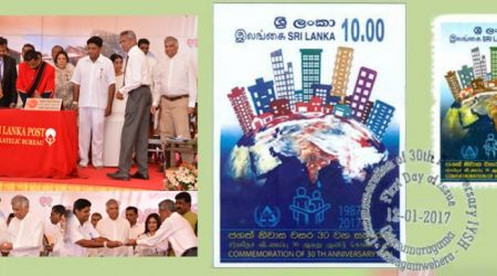 Issuance of Stamp and First Day Cover for Marking the 30th Anniversary of IYSH