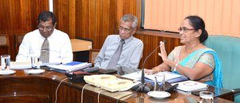 "Progress Review Of ""Samata Sevana"" National Program"