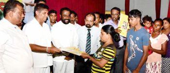 HOUSING LOANS FOR BENEFICIARIES IN PUTTALAM DISTRICT