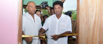 """Opening of  the 17th Model Village,""""Wijayabagama"""" in Polpithigama, Kurunegala"""