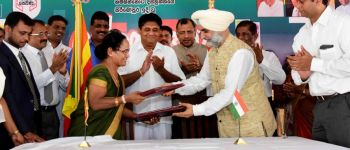 Signing of a MoU between Indian and Sri Lankan Governments