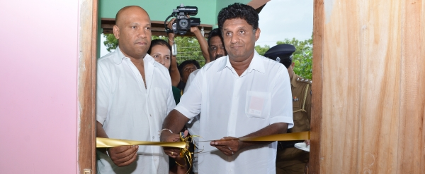 "Opening of  the 17th Model Village,""Wijayabagama"" in Polpithigama, Kurunegala"