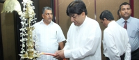 Hon. Dilan Perera assumed duties as State Minister of Housing and Samurdhi