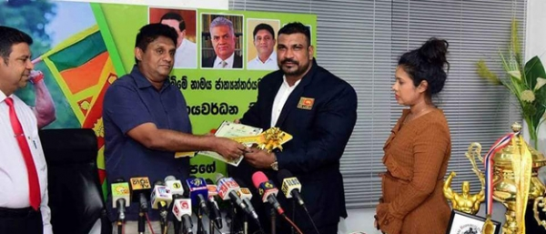 Asian bodybuilding champion Lucian Pushparaj was presented with a house