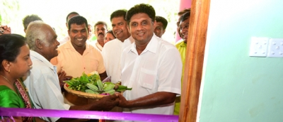 THE 21ST MODEL VILLAGE WAS DECLARED OPEN IN THE NAME OF VEEDIYABANDARAGAMA IN  PALINDANUWARA OF KALUTARA DISTRICT