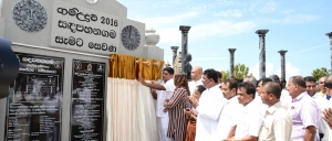 "National Housing Day and Opening of ""Sandapahanagama"" 30th Model Village"