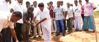 "Laying of foundation for ""Sathsevanagama"""